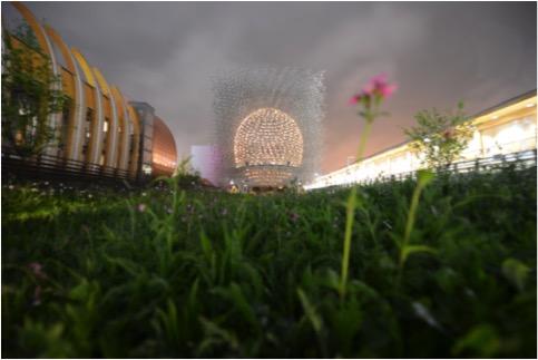 Elettron Expo 2015 - padiglione della Gran Bretagna