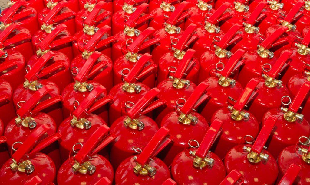manutenzione semestrale estintori antincendio Brescia
