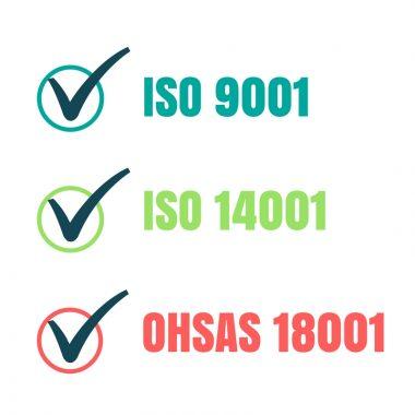 Sistema di gestione Integrato Elettron; ISO 9001, ISO 14001, OHSAS 18001