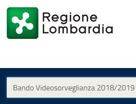 Bando Cofinanziamenti Videosorveglianza 2018